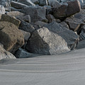 Beach Rocks - Stop The Erosion by Dale Powell