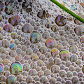 Beach Sand And Bubbles by Robert Potts