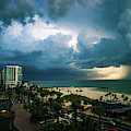 Beach Storm by Joe Leone