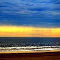 Beach Sunset Glow by Cynthia Guinn