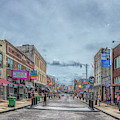 Beale Street Panorama by Susan Rissi Tregoning