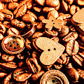 Beans And Buttons by Jorgo Photography - Wall Art Gallery