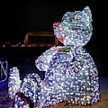 Bear At The Duluth Lift Bridge by Susan Rissi Tregoning