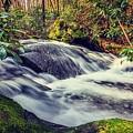 Bear Creek Waterfall Long Exposure 2 by Keith Smith