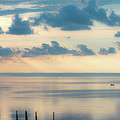Beautiful Clouds Over Pamlico Sound by Anthony Doudt