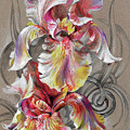 Beautiful Fantastic Realistic Flowers by Oksana Gatalskaya