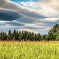 Beautiful Sky Over Lake Clark National Park, Alaska by Lyl Dil Creations