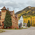 Beautiful Small Town Rico Colorado by James BO Insogna