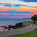 Beautiful Sunset Over The Lynn Waterfront And Red Rock Park Lynn Ma by Toby McGuire