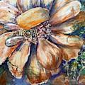 Bee In Cosmos Flower by Ryn Shell