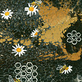 Bees And Daisys by Darice Machel McGuire