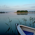 Before Dawn At Lake Tajty by Dubi Roman