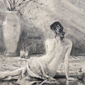 Before The Bath by Steve Henderson