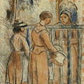 Beggar Women by Camille Pissarro