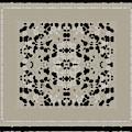 Beige Black Pattern by Judi Suni Hall