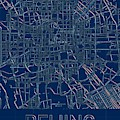 Beijing Blueprint City Map by Helge