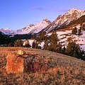 Bell Mountain Sunrise by Leland D Howard