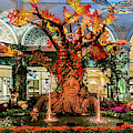 Bellagio Conservatory Enchanted Talking Tree Ultra Wide 2018 2.5 To 1 Aspect Ratio by Aloha Art