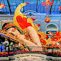 Bellagio Conservatory Falling Asleep Display Wide 2018 2.5 To 1 Aspect Ratio by Aloha Art