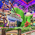 Bellagio Conservatory Spring Display Front Side View Wide 2018 2 To 1 Aspect Ratio by Aloha Art