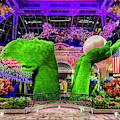 Bellagio Conservatory Spring Display Ultra Wide 2 To 1 Aspect Ratio by Aloha Art