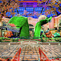 Bellagio Conservatory Spring Display Ultra Wide Trees 2018 by Aloha Art