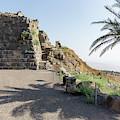 Belvoir Crusaders Fortress In Israel by William Kuta