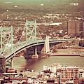 Ben Franklin Bridge by Trish Tritz