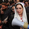 Benazir Bhutto Released From House by John Moore