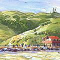 Benicia Point Pier by Judith Kunzle