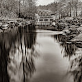 Bentonville Crystal Bridges Art Museum - Arkansas Sepia by Gregory Ballos