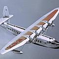 Bermuda Clipper In Flight by Michael Ochs Archives