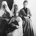 Bethlehem Women In 1886 by Munir Alawi