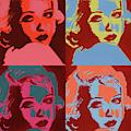 Bette Davis Pop by Dan Sproul