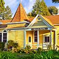 Beulah Chapel, Home Of Peace, Oakland, California by Brian Tada