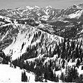 Beyong Mineral Basin Black And White by Adam Jewell