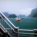 Bhaya Cruise Line Ha Long Bay  by Chuck Kuhn