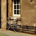 bicycle in Edinburgh close by Victor Lord Denovan