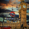Big Ben London City by Adrian Evans