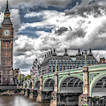 Big Ben On The River Thames  by Doc Braham