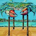 Big Blue Crab Rockport by Patti Schermerhorn