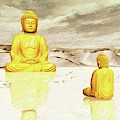 Big Buddha, Little Buddha by Sarah Kirk