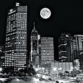 Big Moon Indianapolis 2019 by Frozen in Time Fine Art Photography