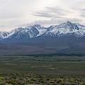 Big Pine California Overlook  by Michael Ver Sprill