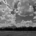 Big Sky Over Grand Tetons  by Chance Kafka