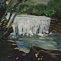 Big Waterfall by Julie Thomas-Zucker