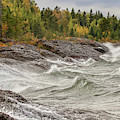 Big Waves In Autumn by Susan Rydberg