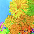 Biggie Flowers Sky by Karen Szybalski