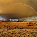 Bighorn Basin Rainbow by Leland D Howard