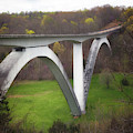 Birdsong Hollow Double Arch Bridge by Susan Rissi Tregoning